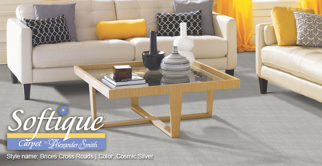 Softique Carpet featured in Oct 2015 issue of Traditional Home magazine. Made in the USA.